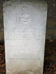 The Grave at Fort George Cemetery