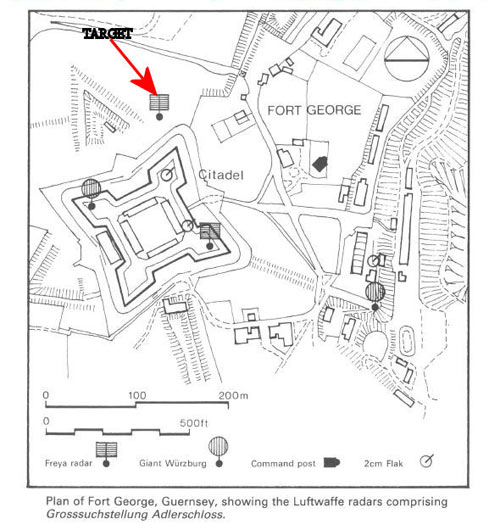 Fort George Radar Map CIOS R 1988